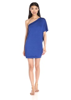 Trina Turk Women's Britta Must Have Jersey One Shoulder Dress