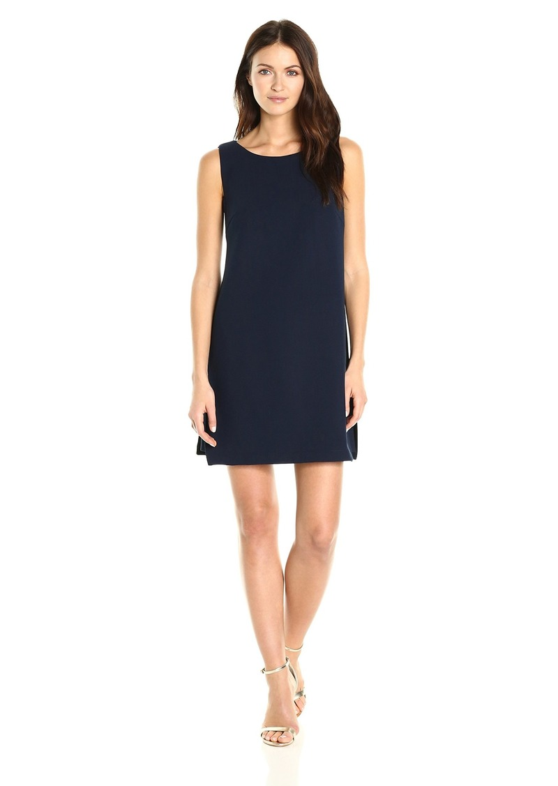 Trina Turk Women's Brynne Luxe Drape Split Side Dress