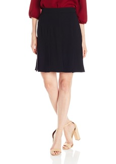 Trina Turk Women's Carwash Carmel Crepe Pleated Skirt