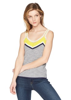 Trina Turk Women's Claremont Sweater Knit Top  Extra Small