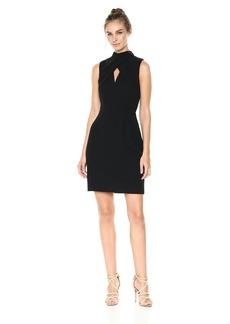 Trina Turk Women's Contessa Twist Front Sheath Dress