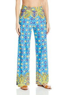 Trina Turk Women's Corsica Beach Pant Cover up  S