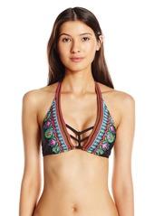 Trina Turk Women's Dashiki Halter Bikini Top