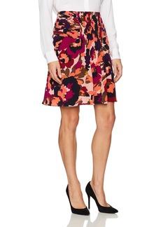 Trina Turk Women's Diamond MacArthur Park Floral Printed Skirt