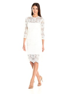 Trina Turk Women's Divertida Pinwheel Eyelet and St. Lucia Lace Dress