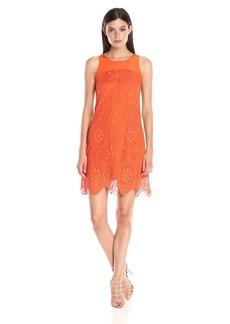 Trina Turk Women's Emerson Gypsetter Lace Sleeveless Dress