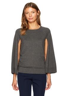 Trina Turk Women's Fern Dell Cape Cotton Sweater  L