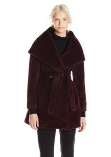 Trina Turk Women's Grace Wool Belted Wrap Coat