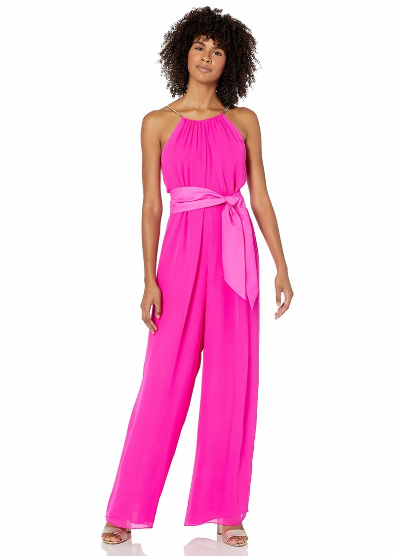 Trina Turk Women's Jungle Belted Jumpsuit  Extra Large