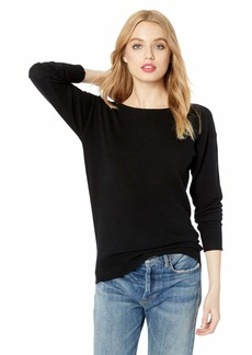 Trina Turk Women's Lemon Drop Tie Back Sweater  Extra Large
