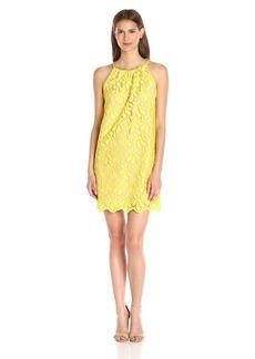 Trina Turk Women's Lil Penny Petal Lace Sleeveless Dress