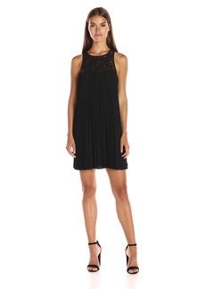 Trina Turk Women's Lynelle Chic Drape Pleated Dress