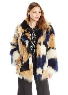 Trina Turk Women's Makayla Faux Fur Coat