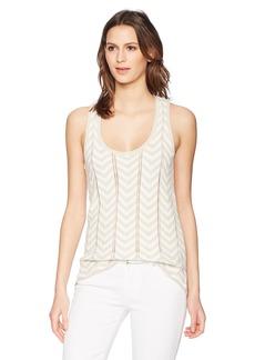 Trina Turk Women's Manzanita Sweater Top Sand/White wash