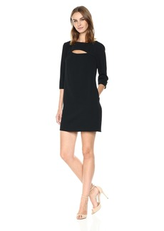 Trina Turk Women's Marlowe Cutout Crepe Dress