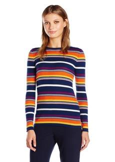 Trina Turk Women's Marsilla -Colored Striped Sweater