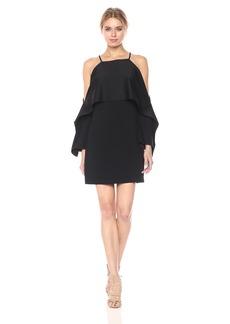 Trina Turk Women's MIA Cold Shoulder Drape Dress