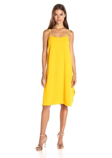 Trina Turk Women's Nara Carmel Crepe Midi Dress
