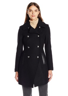 Trina Turk Women's Olivia Wool Double Breasted Coat