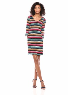 Trina Turk Women's Orchestra V Neck Dress