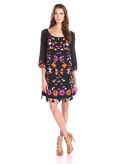Trina Turk Women's Sandrah Embroidered Dress