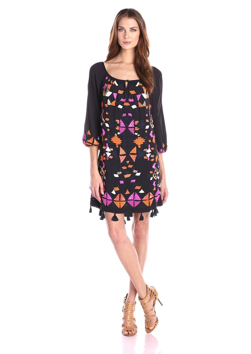 Trina Turk Women's Sandrah Embroidered Dress
