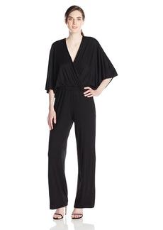 Trina Turk Women's Sapphire Must Have Jersey Jumpsuit