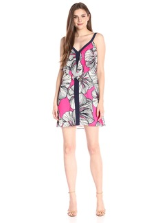 Trina Turk Women's Scyler Agean Floral Sleeveless Dress