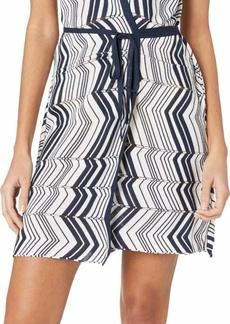 Trina Turk Women's Sleeveless Tie Front Wrap Tunic  M