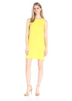Trina Turk Women's Sol Carmel Crepe Sleeveless Dress