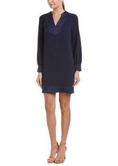 Trina Turk Women's Sublime Carmel Crepe Long Sleeve Dress