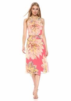 Trina Turk Women's Summery Halter Midi Dress
