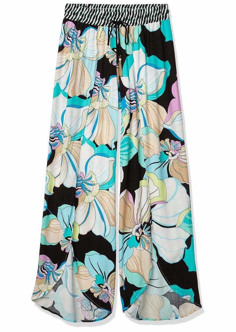 Green////Its Bananas Trina Turk Womens Swimwear Beach Pant Cover Up M