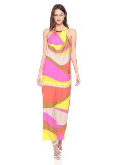 Trina Turk Women's Tranquility Vivid Vista Maxi Dress  XS