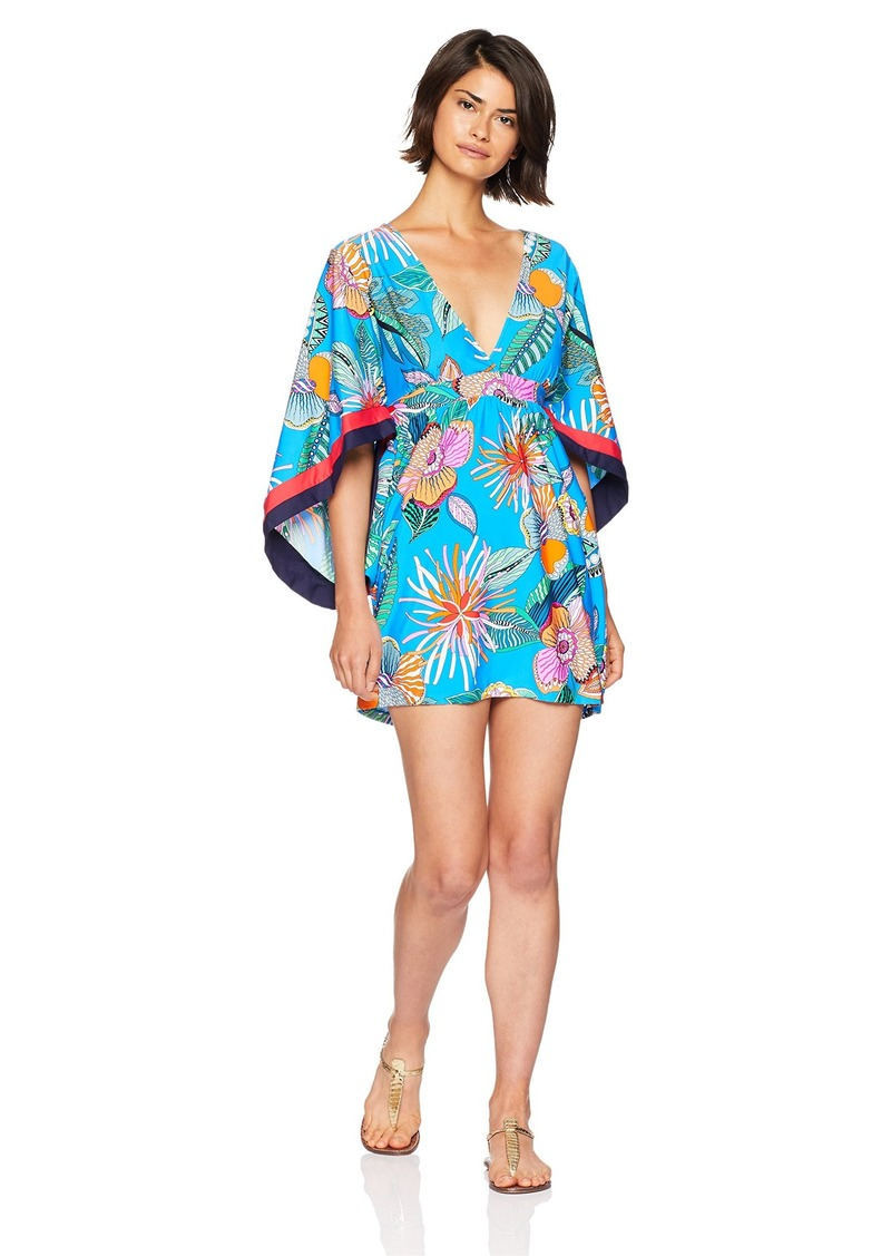 Trina Turk Women's V-Neck Tunic Dress  XS