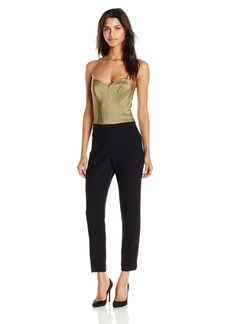Trina Turk Women's Vendetta Party Double Luxe Strapless Jumpsuit