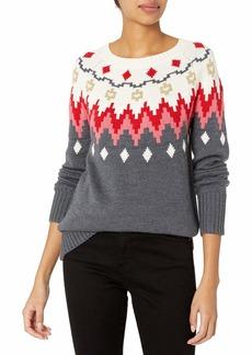 Trina Turk Women's Veneto Fair Isle Sweater