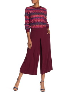 Trina Turk Vivir Wide Leg Pleated Culotte Pants