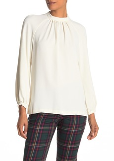 Trina Turk Vodka 2 Keyhole Mock Neck Top