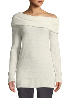 Trina Turk Willow Glen Off-The-Shoulder Cozy Sweater