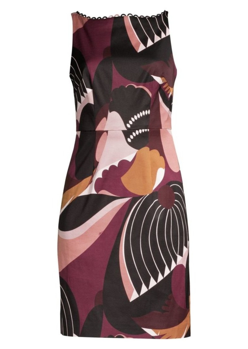 Trina Turk Wine Country Potter Valley Sheath Dress