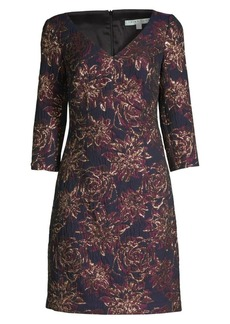Trina Turk Wine Country Roussanne Floral Sheath Dress