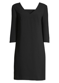 Trina Turk Wine Country V-Neck Shift Dress