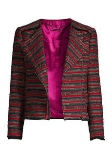 Trina Turk Yamato Asymmetric Zip Jacket