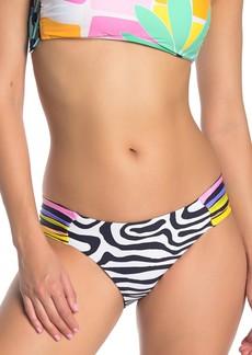 Trina Turk Zebra Reversible Hipster Bikini Bottoms