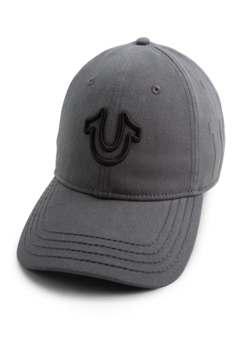 True Religion 3D Embroidered Horseshoe Cap