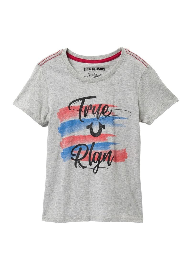 True Religion 4th Stripe Tee (Big Girls)