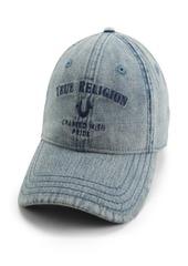True Religion Acid Wash Crafted Baseball Cap