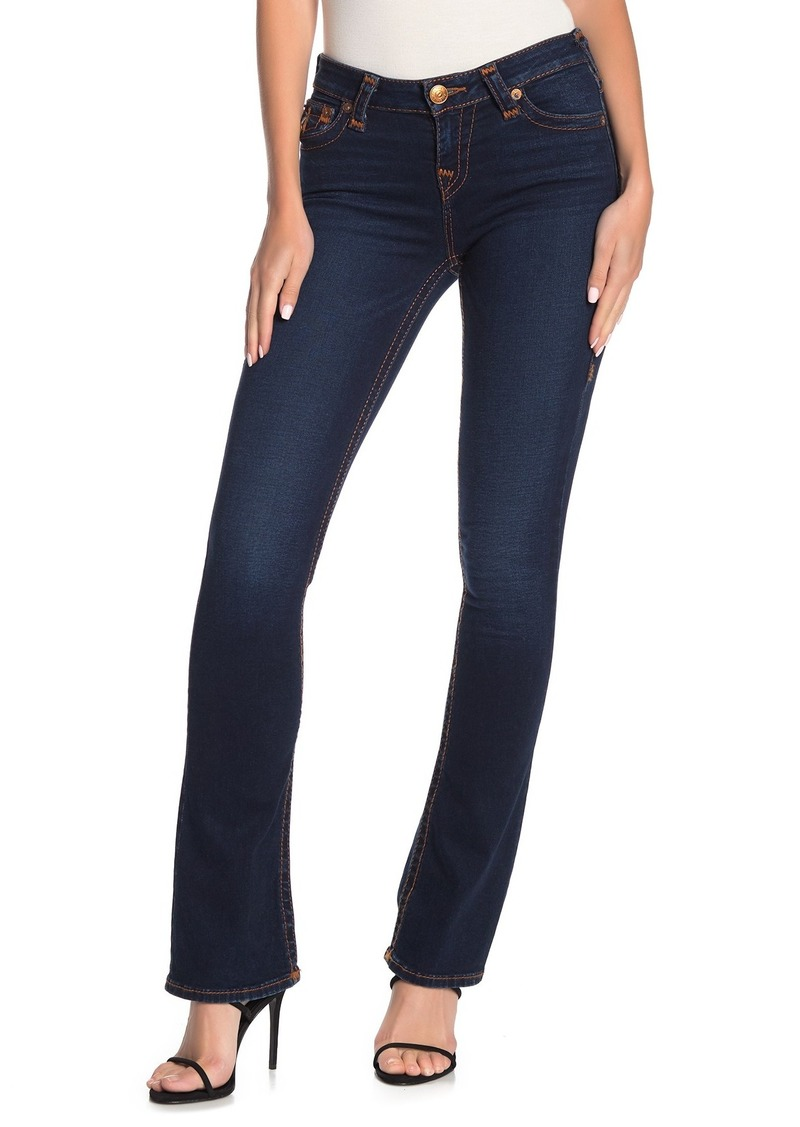 True Religion Becca Flap Pocket Flare Leg Jeans