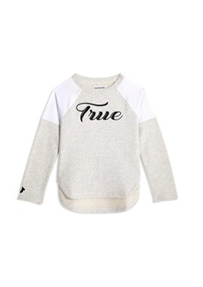 True Religion BIG KIDS SCRIPTED PULLOVER